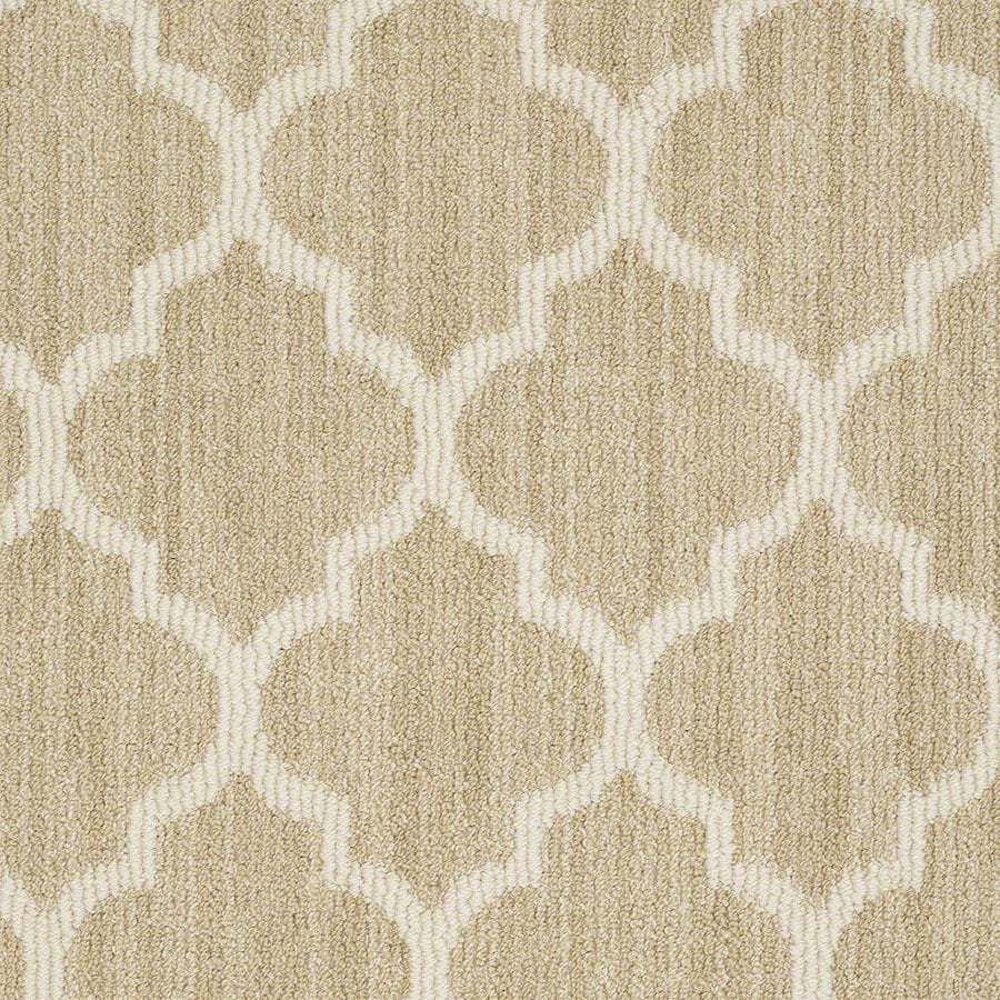 STAINMASTER Rave Review Active Family Butternut Berber Carpet Sample