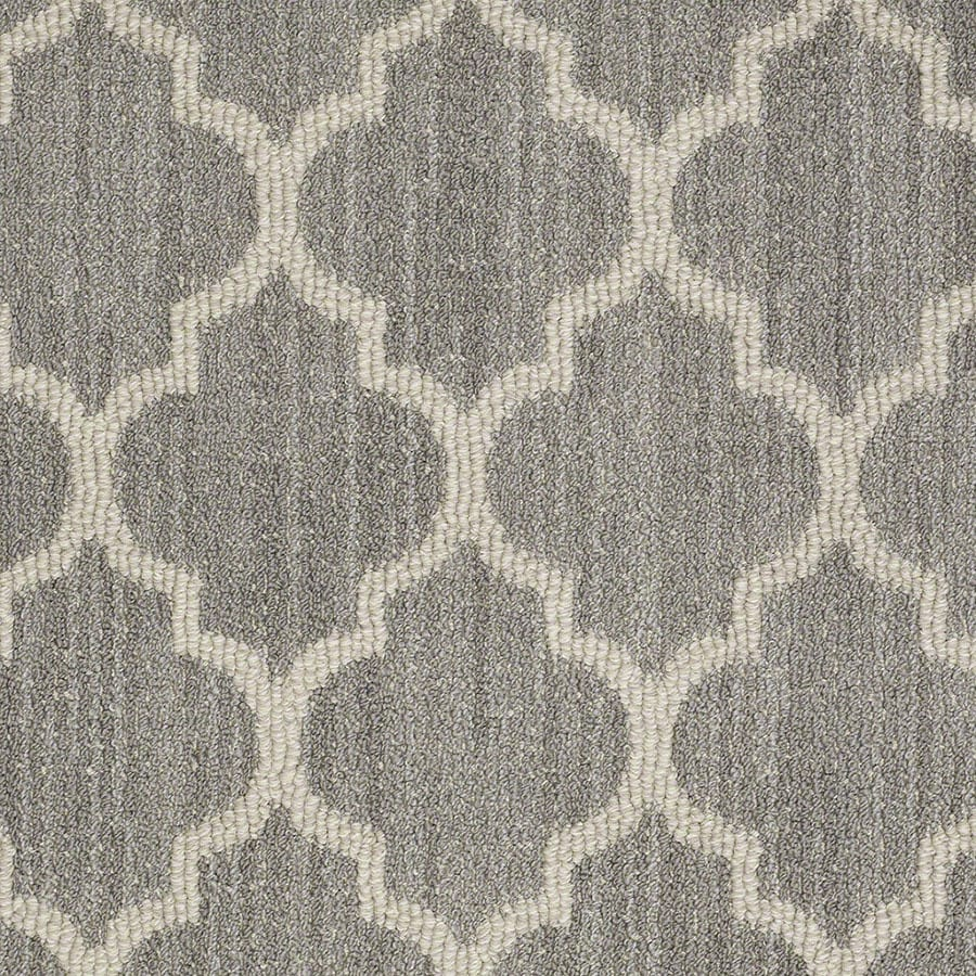 STAINMASTER Active Family Rave Review Landmark Berber/Loop Carpet Sample