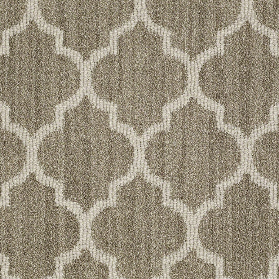 STAINMASTER Active Family Rave Review Cliff Edge Carpet Sample