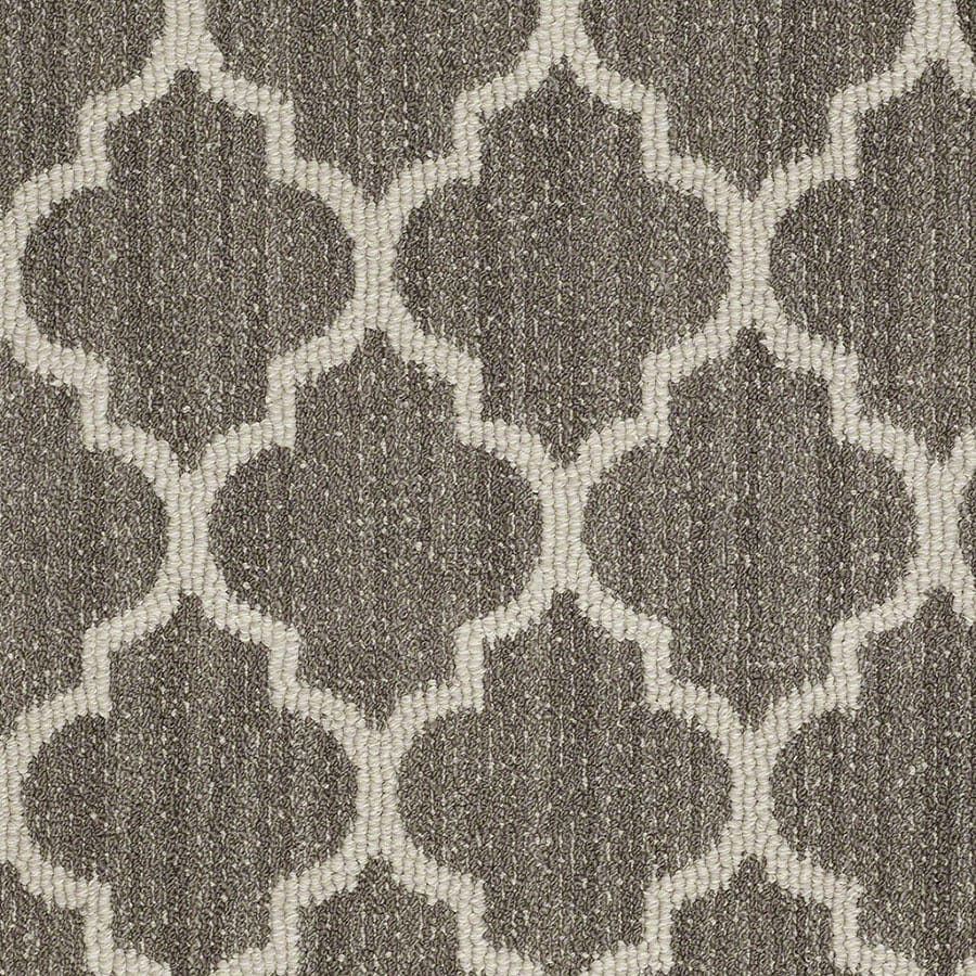 STAINMASTER Active Family Rave Review Windsor Gray Carpet Sample