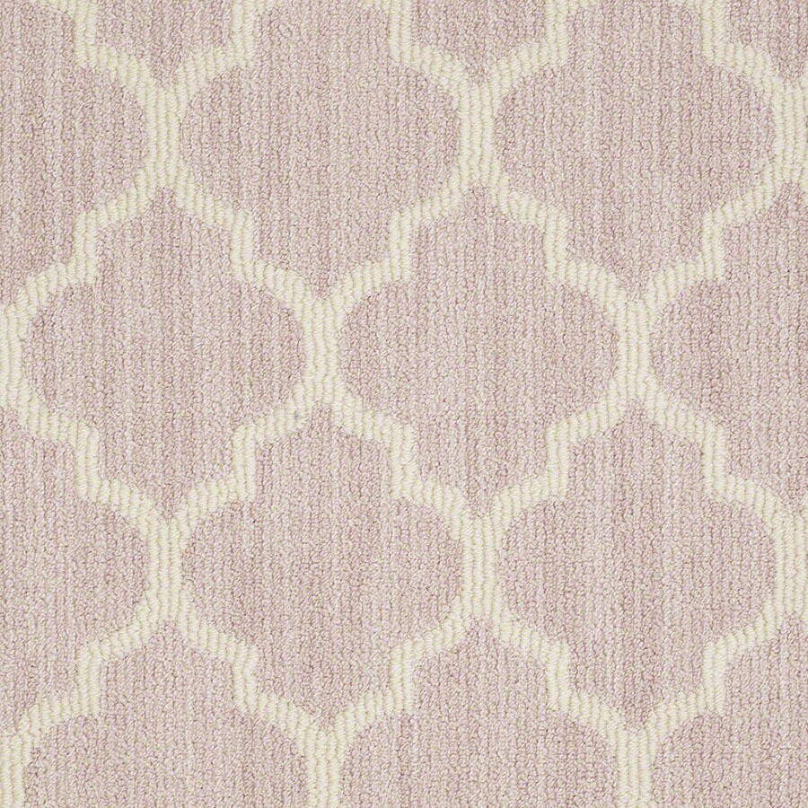 STAINMASTER Rave Review Active Family Sweet Pink Berber Carpet Sample