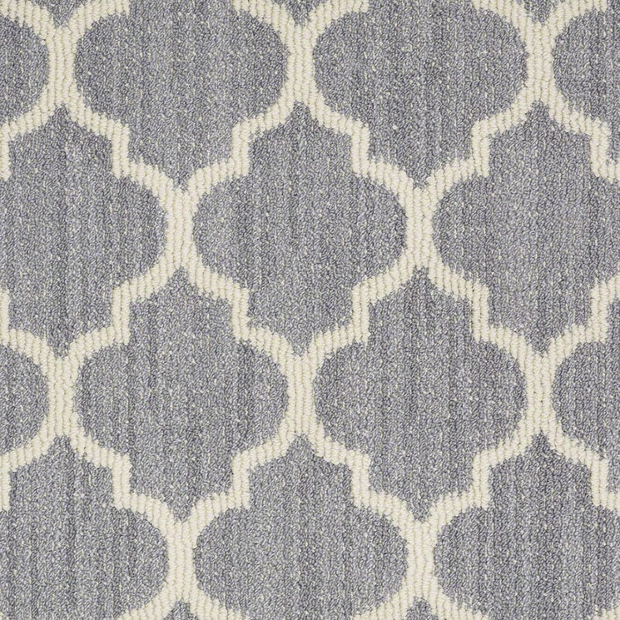 STAINMASTER Active Family Rave Review Violet Carpet Sample