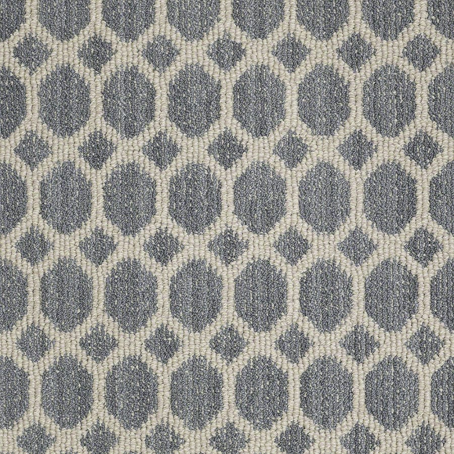 STAINMASTER All The Rage Active Family Bay Of Hope Berber Carpet Sample