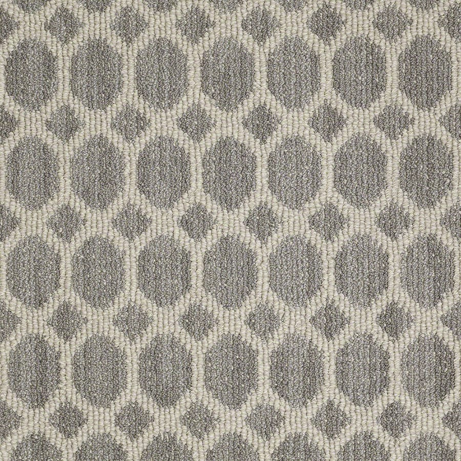 STAINMASTER Active Family All The Rage Landmark Berber/Loop Carpet Sample