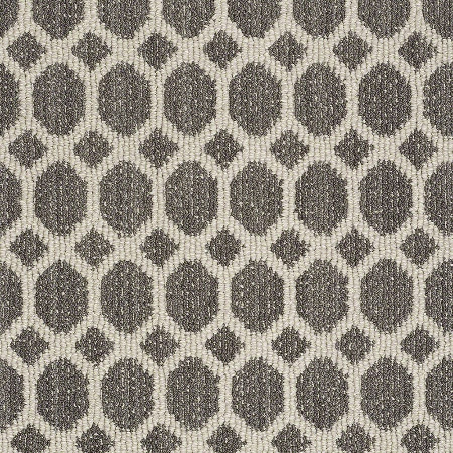 STAINMASTER Active Family All The Rage Chateau Berber/Loop Carpet Sample