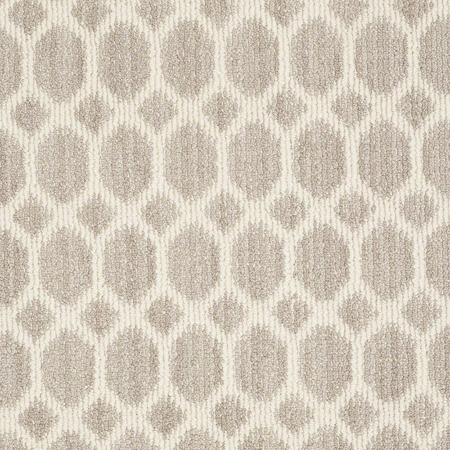 STAINMASTER All The Rage Active Family Plaza Taupe Berber Carpet Sample