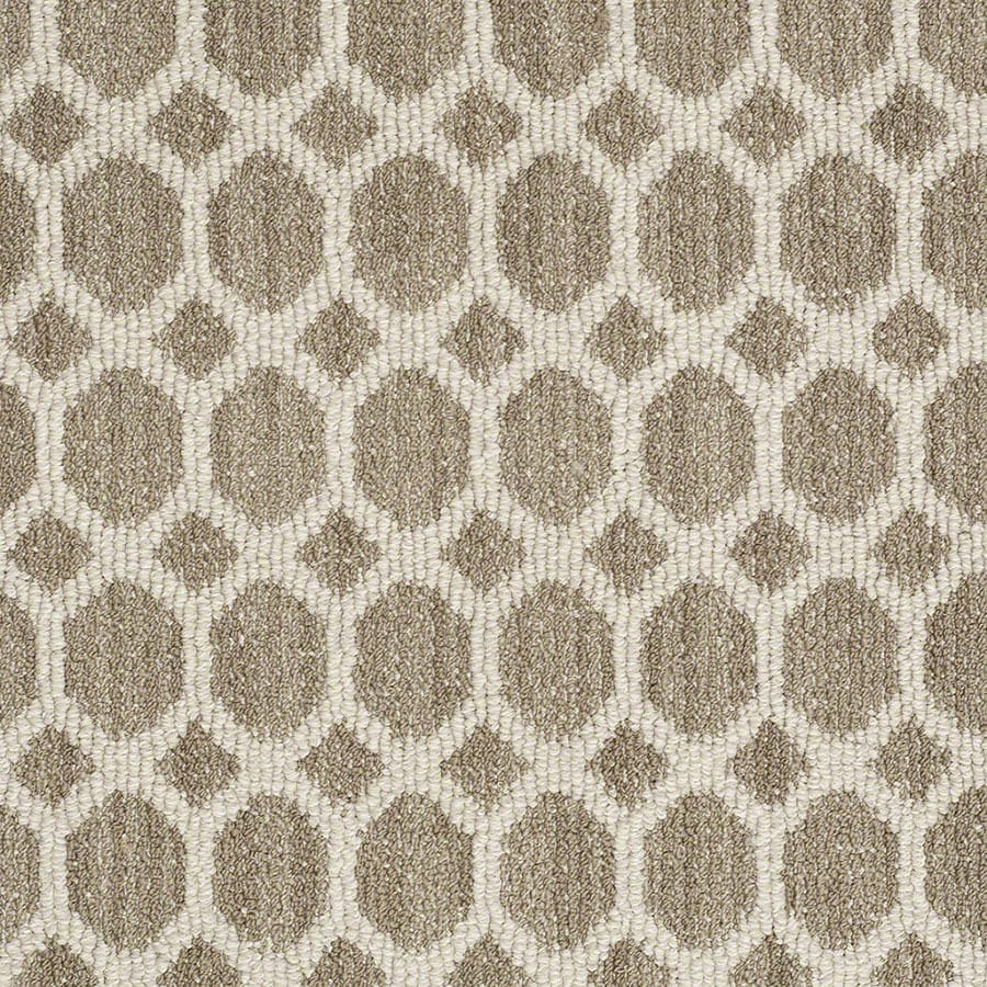 STAINMASTER All The Rage Active Family Cliff Edge Berber Carpet Sample