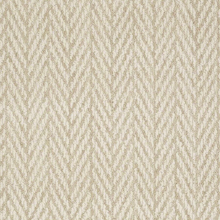STAINMASTER Active Family Apparent Beauty Whisper Berber/Loop Carpet Sample