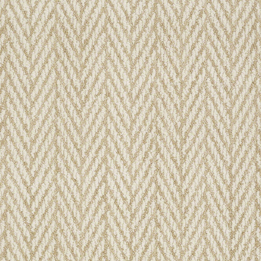 STAINMASTER Active Family Apparent Beauty Butternut Berber/Loop Carpet Sample