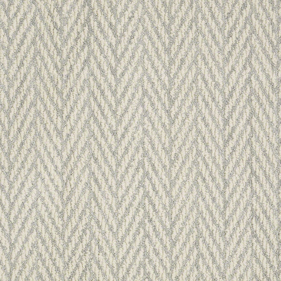 STAINMASTER Apparent Beauty Active Family Silver Spruce Berber Carpet Sample