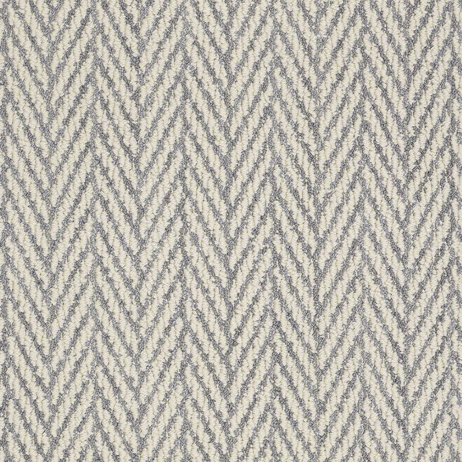 STAINMASTER Active Family Apparent Beauty Violet Berber/Loop Carpet Sample