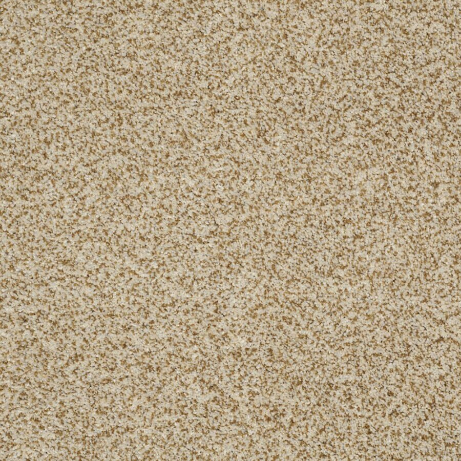 STAINMASTER Private Oasis III TruSoft Amber Plush Carpet Sample