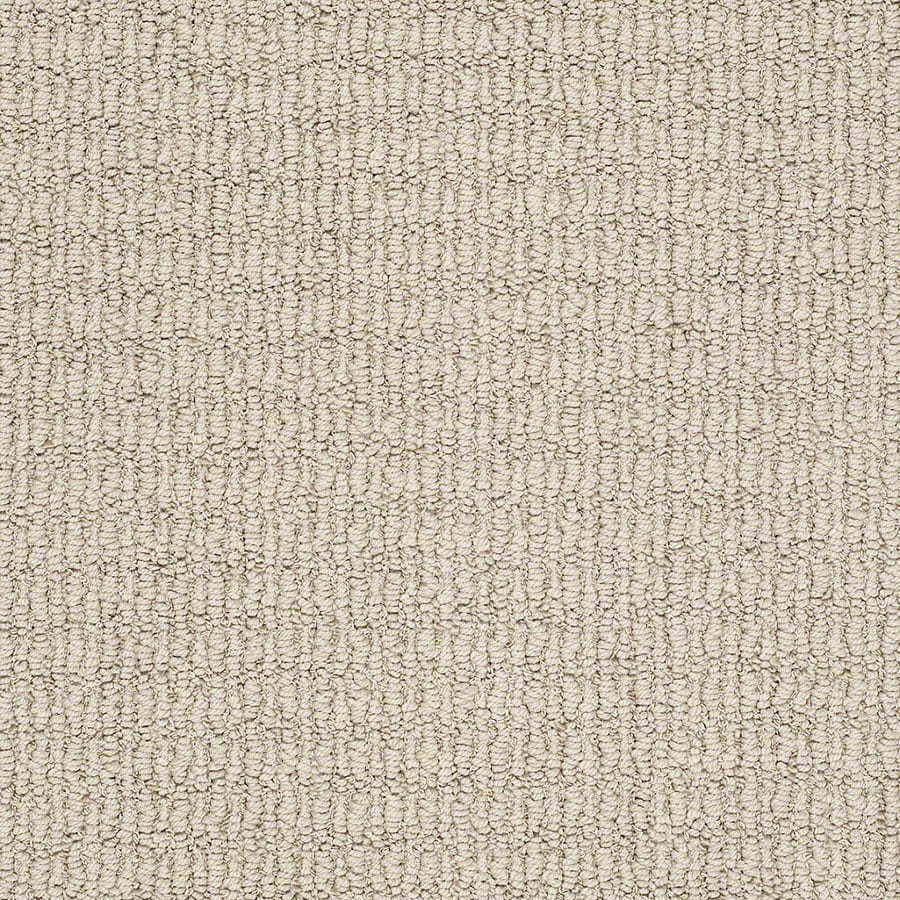 STAINMASTER TruSoft Uneqivocal Antique Buff Carpet Sample
