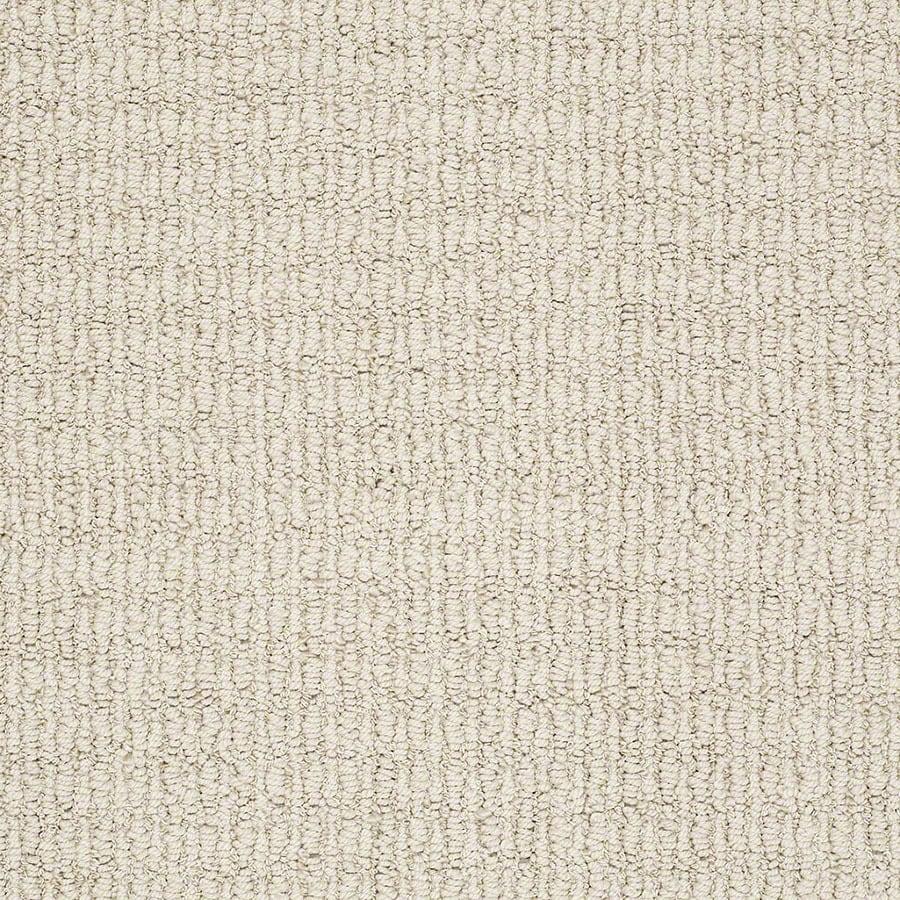 STAINMASTER Uneqivocal TruSoft Moonlit Cream Berber Carpet Sample