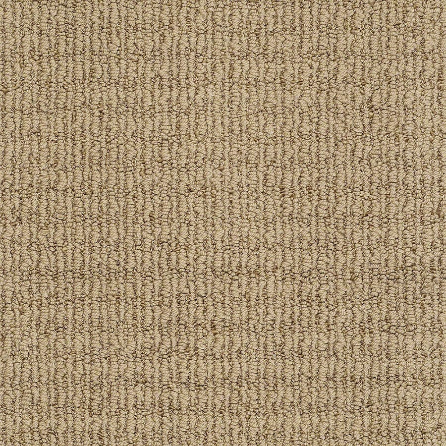 STAINMASTER Uneqivocal TruSoft Maxi Tan Berber Carpet Sample