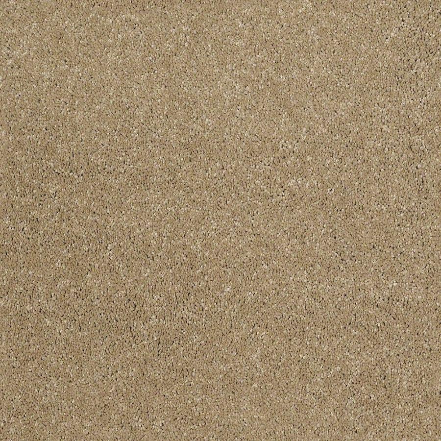 STAINMASTER TruSoft Classic II (S) Flax Plush Carpet Sample