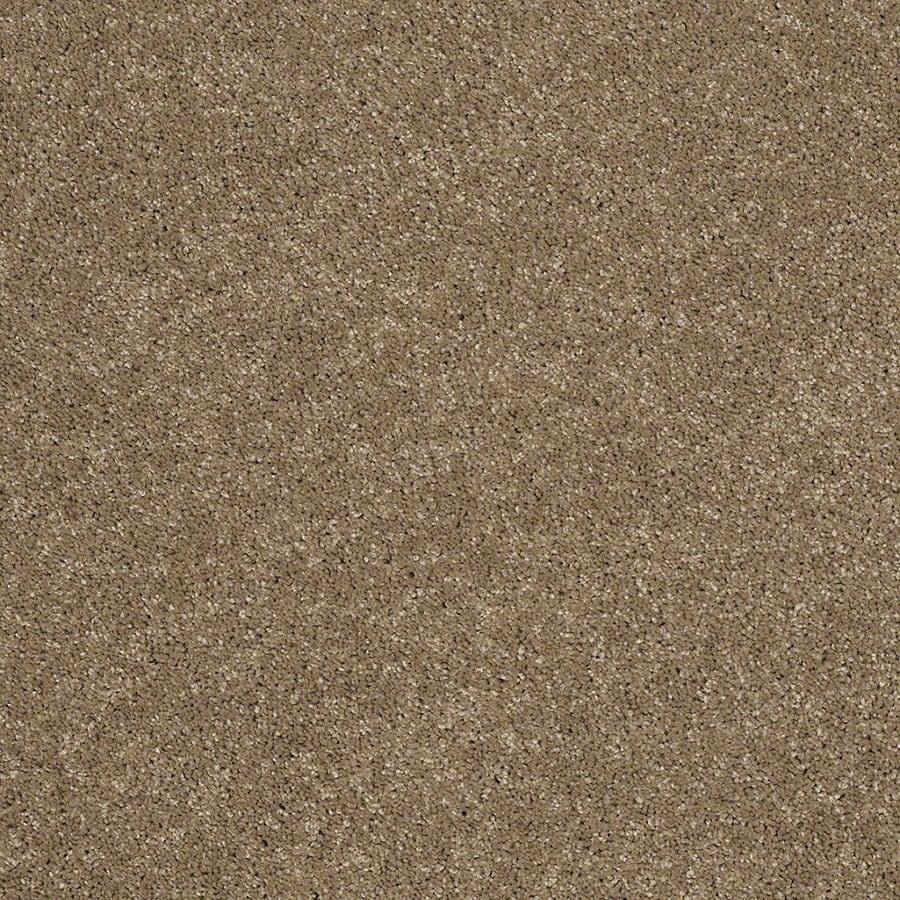 STAINMASTER TruSoft Classic II (S) Cobblestone Plush Carpet Sample