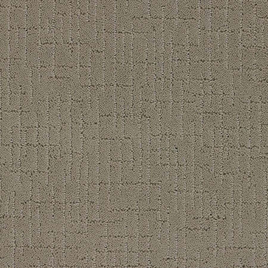 STAINMASTER Gates Mills TruSoft Masonry Cut and Loop Carpet Sample