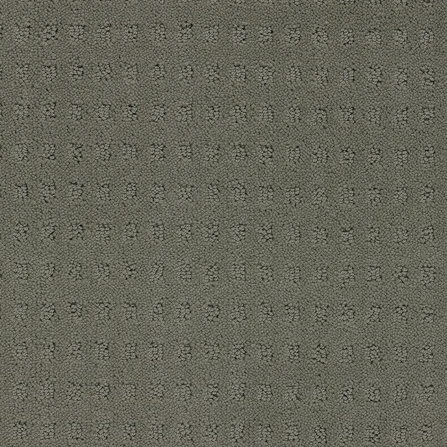 STAINMASTER TruSoft Glen Willow Wheat Toast Berber/Loop Carpet Sample