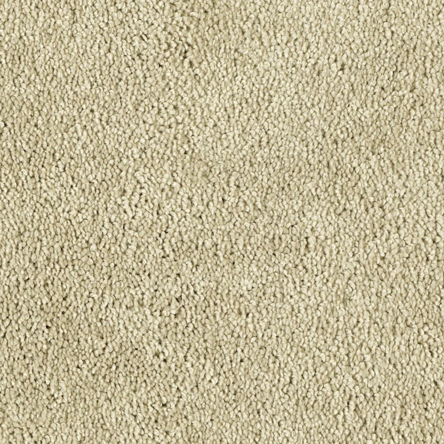STAINMASTER Essentials Soft and Cozy II- S French Cream Plush Carpet Sample