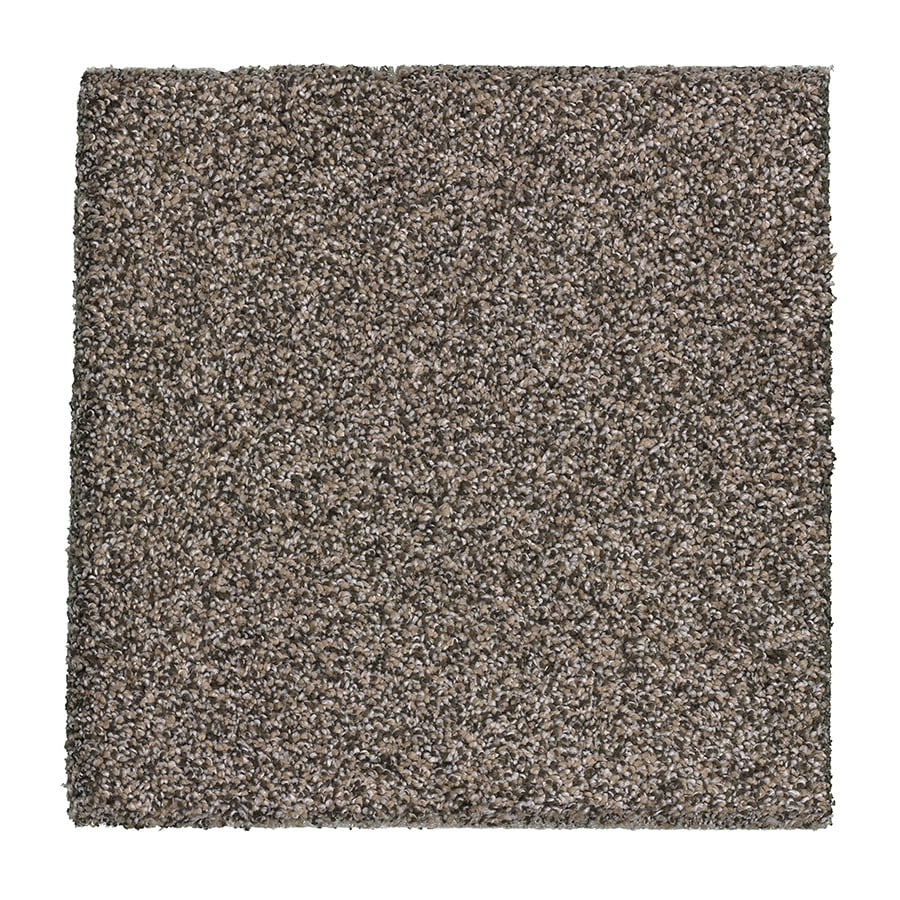 STAINMASTER Essentials Stone Peak II Pumice Plush Carpet Sample