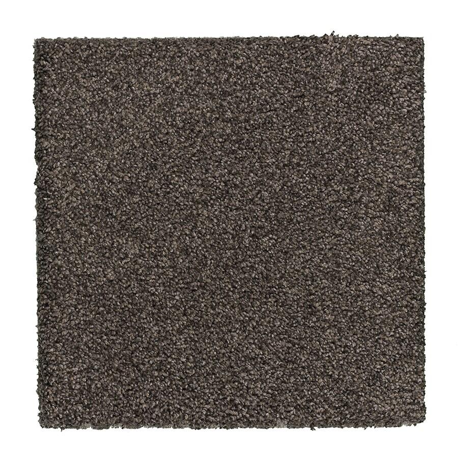 STAINMASTER Essentials Stone Peak II Earthy Emerald Plush Carpet Sample