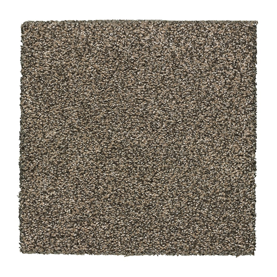 STAINMASTER Stone Peak III Essentials Moonstone Plush Carpet Sample