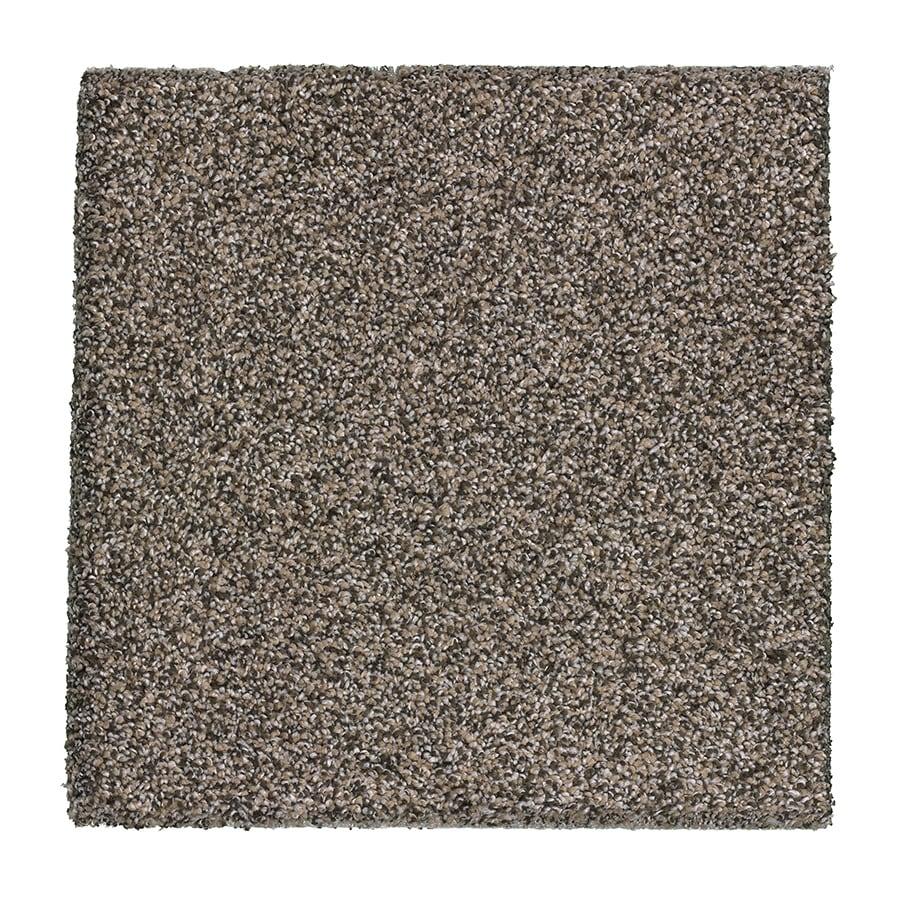 STAINMASTER Essentials Stone Peak III Pumice Plush Carpet Sample