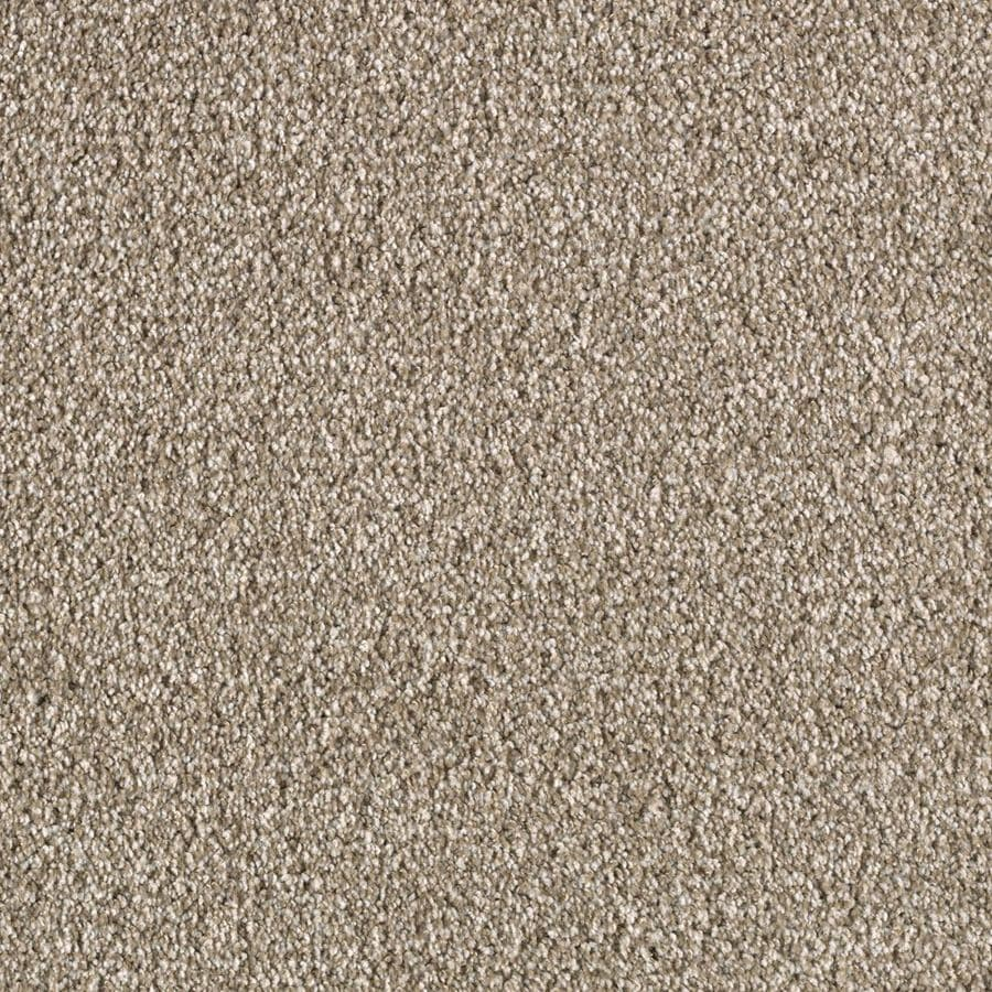 STAINMASTER Seabourne Active Family Oyster Shell Frieze Carpet Sample