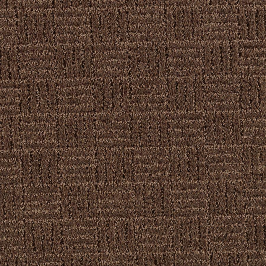 STAINMASTER Essentials Stylesboro Cigar Leaf Berber/Loop Carpet Sample