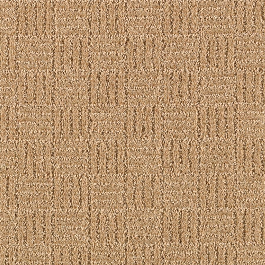 STAINMASTER Essentials Stylesboro Almond Butter Berber/Loop Carpet Sample