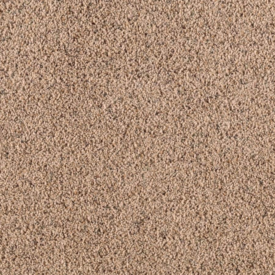 STAINMASTER Renewed Style II Essentials Malted Milk Frieze Carpet Sample