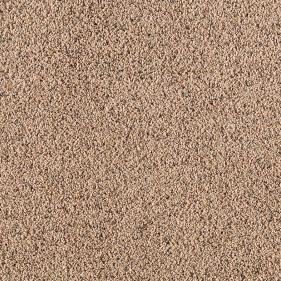 STAINMASTER Renewed Style III Essentials Malted Milk Frieze Carpet Sample