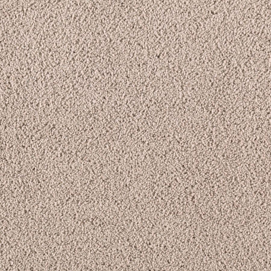 STAINMASTER Essentials Renewed Touch II Neutral Ground Plush Carpet Sample