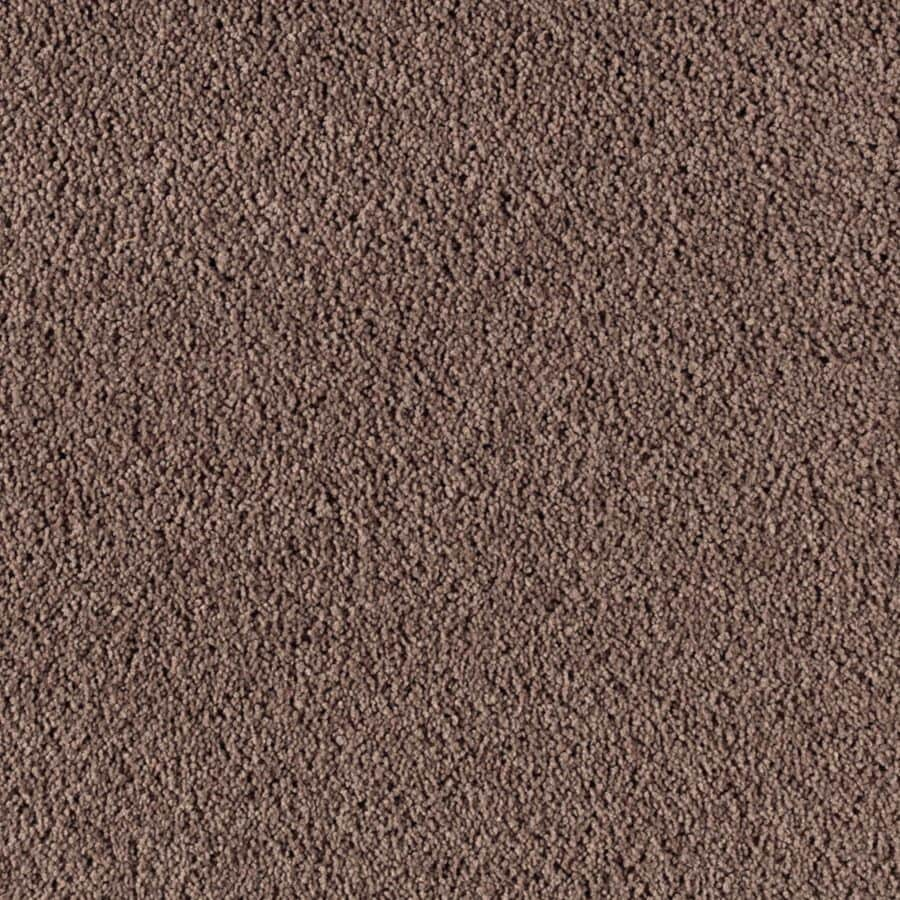 STAINMASTER Essentials Renewed Touch III Brownstone Plush Carpet Sample