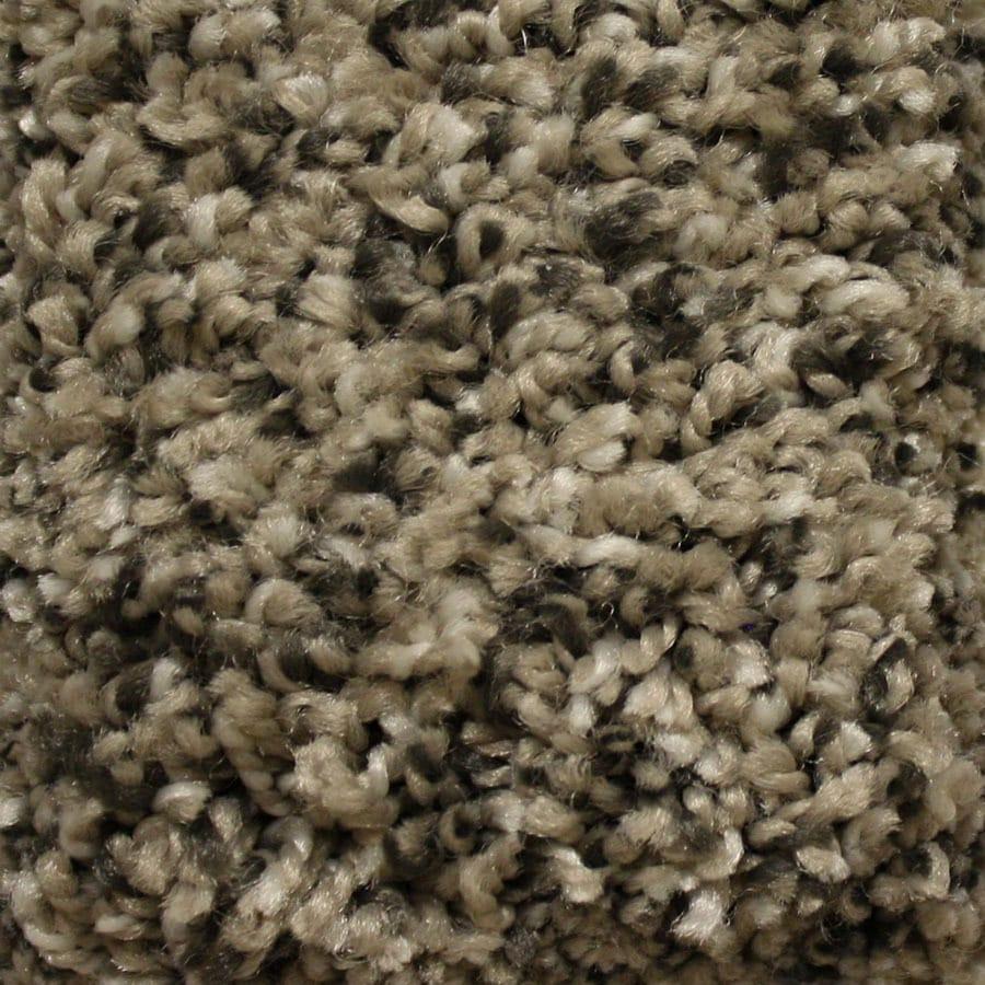 STAINMASTER Essentials Valmeyer Stoat's Nest Plush Carpet Sample