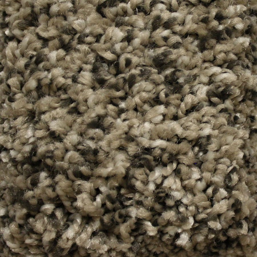 STAINMASTER Essentials Summer Stoat's Nest Plush Carpet Sample