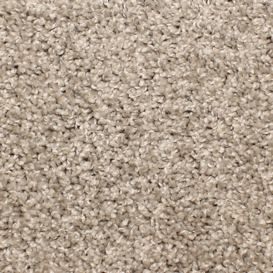 STAINMASTER Essentials Conway Cobblestone Plush Carpet Sample