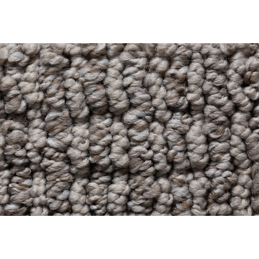 STAINMASTER Active Family Sojourn Grey Stone Berber/Loop Carpet Sample