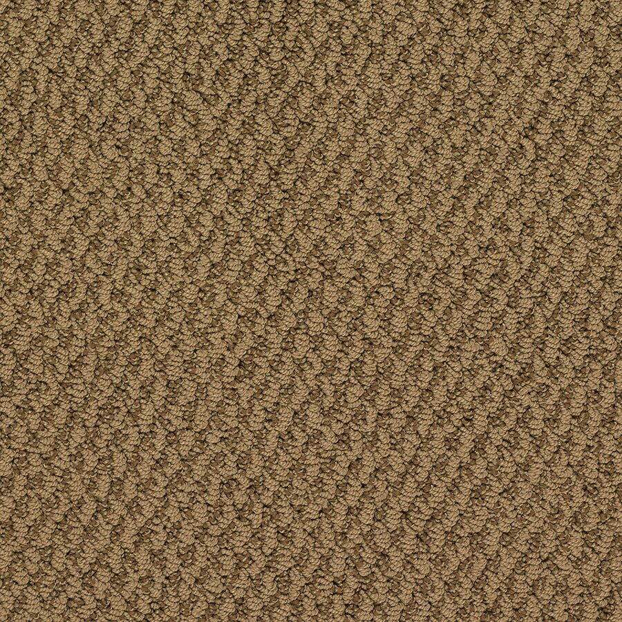 STAINMASTER Oracle Active Family Mount Fuji Berber Carpet Sample