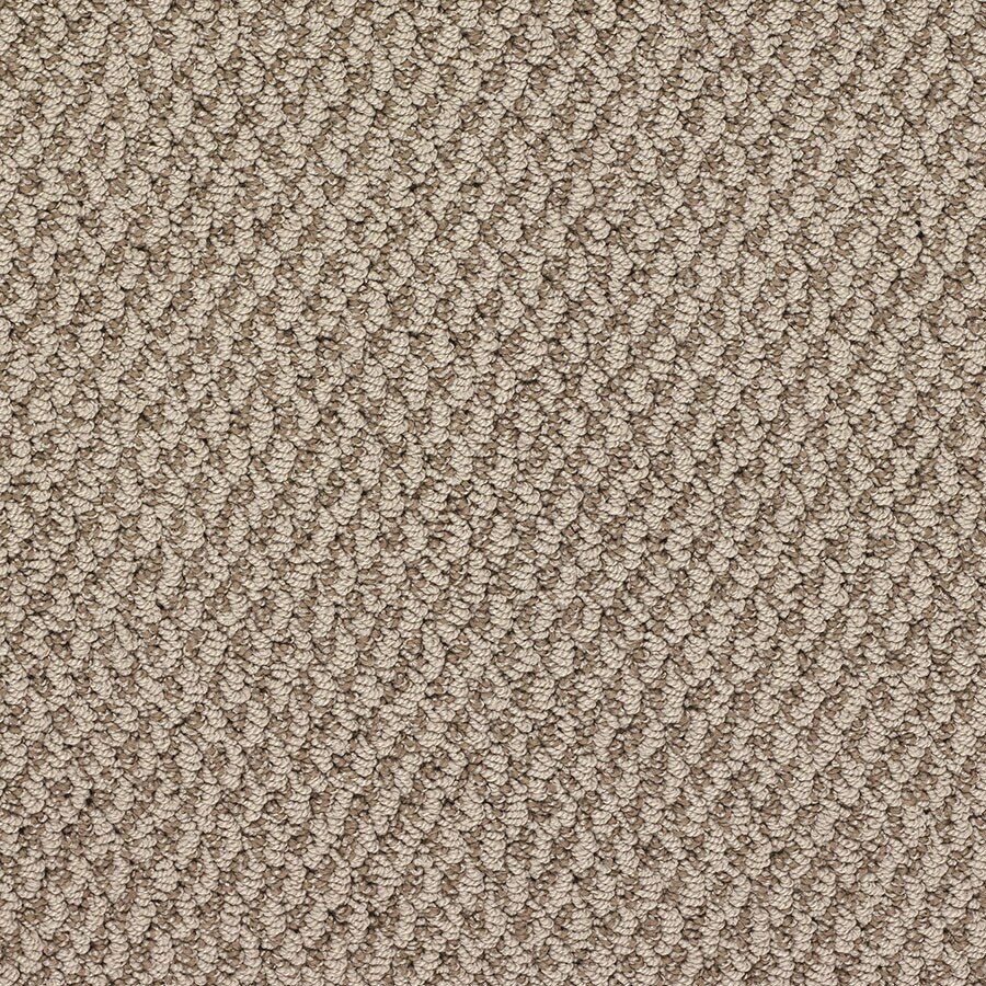 STAINMASTER Oracle Active Family Liberty Bell Berber Carpet Sample