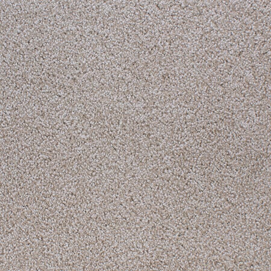 STAINMASTER Active Family Oak Grove Cream/Beige/Almond Berber/Loop Carpet Sample