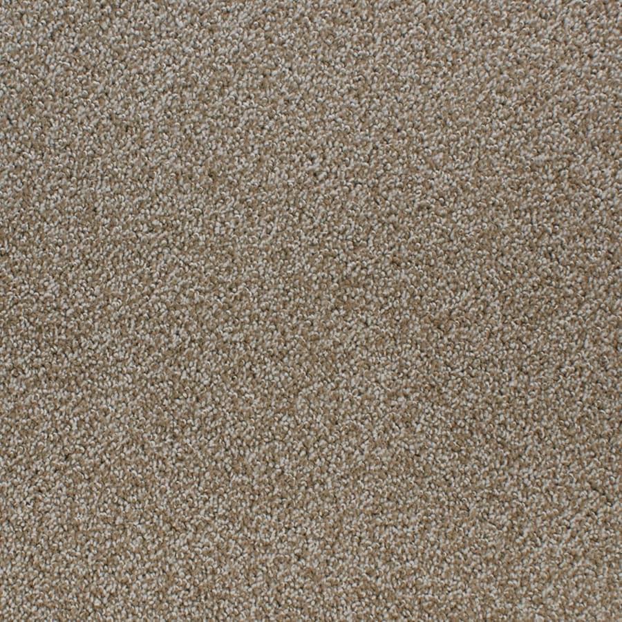 STAINMASTER Active Family Oak Grove Brown/Tan Carpet Sample