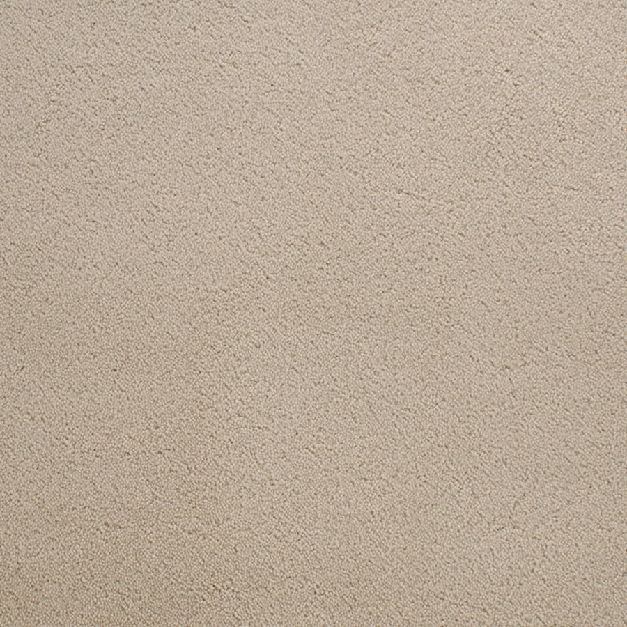 STAINMASTER Active Family Capri Place Cream/Beige/Almond Carpet Sample