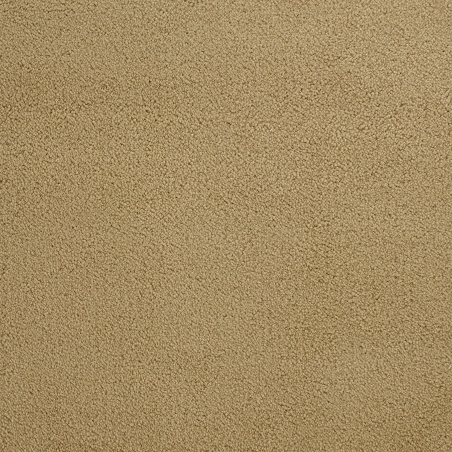 STAINMASTER Active Family Capri Place Yellow/Gold Plush Carpet Sample