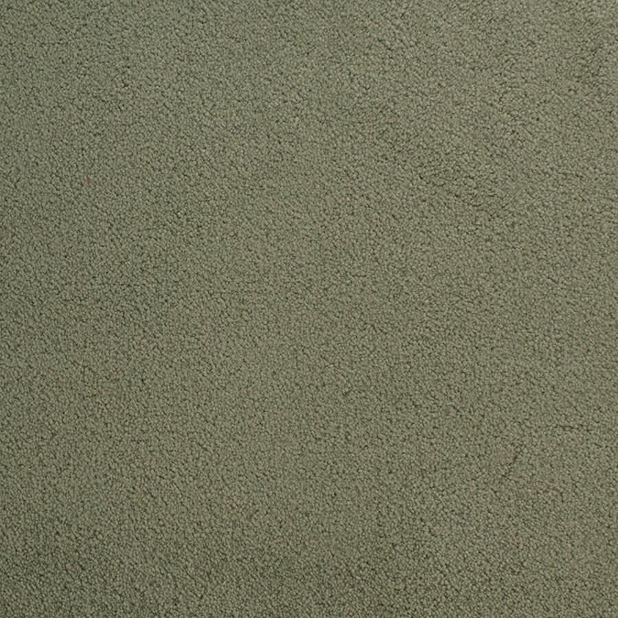 STAINMASTER Active Family Capri Place Green Plush Carpet Sample