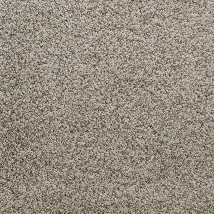 STAINMASTER Exuberance Iii Active Family Cream/Beige/Almond Plus Carpet Sample