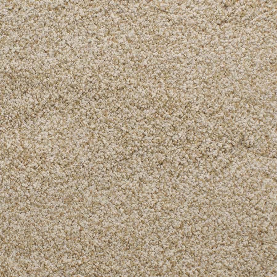 STAINMASTER Active Family Exuberance III Yellow/Gold Plush Carpet Sample