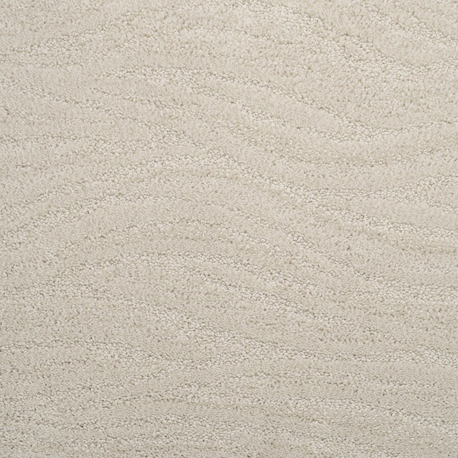 STAINMASTER Rutherford Active Family Raw Silk Cut and Loop Carpet Sample
