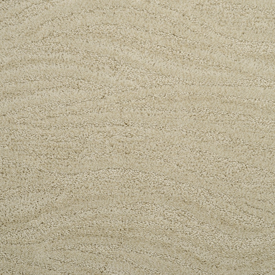 STAINMASTER Rutherford Active Family Lime Tart Cut and Loop Carpet Sample
